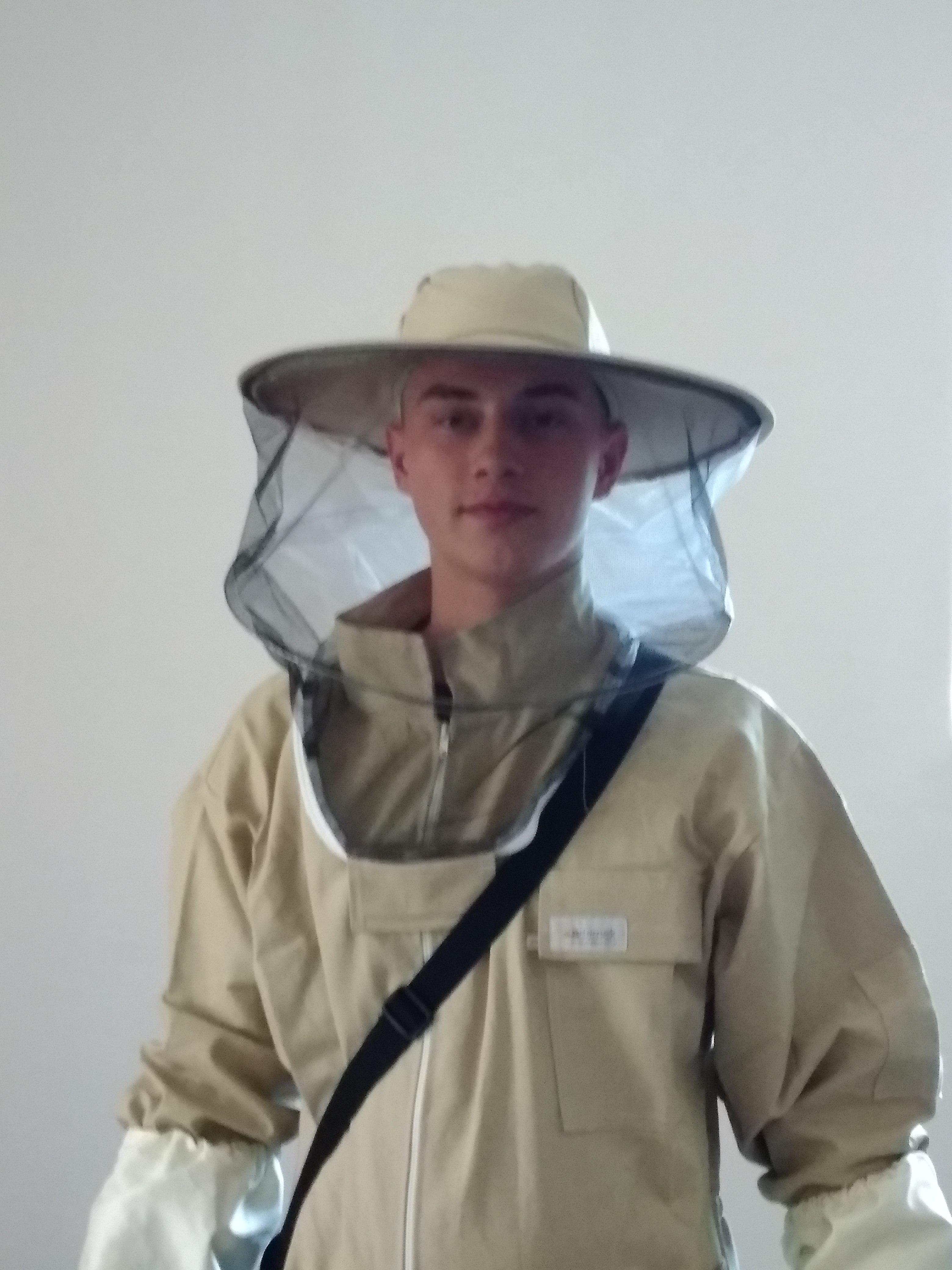 Przyszły pszczelarz