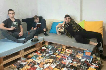 Książki do naszej biblioteki